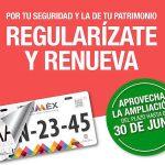 Refrendo y reemplacamiento EdoMex ampliación hasta junio