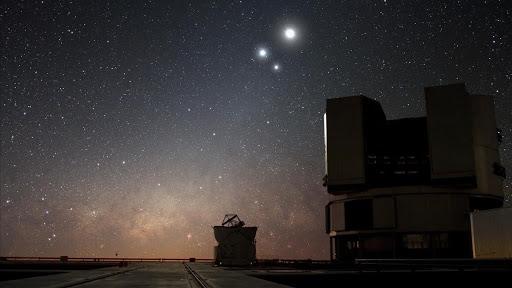 Triple conjunción de la Luna, Marte, Júpiter y Saturno en este mes de marzo - TOLUCA