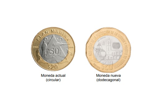 Conoce los increíbles detalles de la nueva moneda de 20 pesos