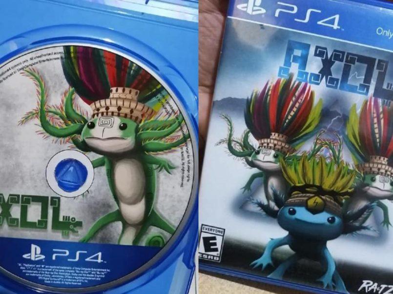 Jóvenes mexicanos crean videojuego inspirado en los ajolotes