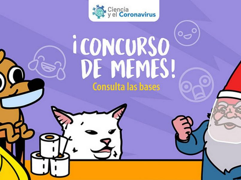 Lanzan concurso de memes sobre Covid-19