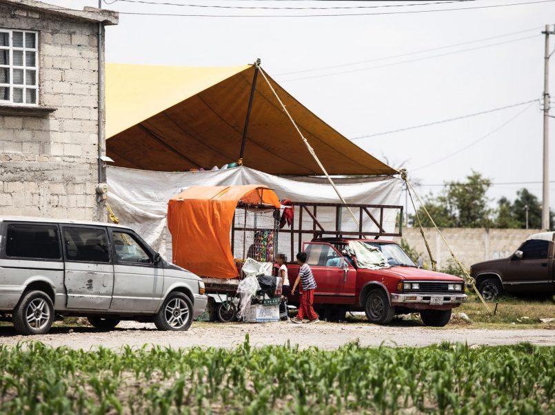 Fiestas son realizadas por poblados de Toluca en plena contingencia