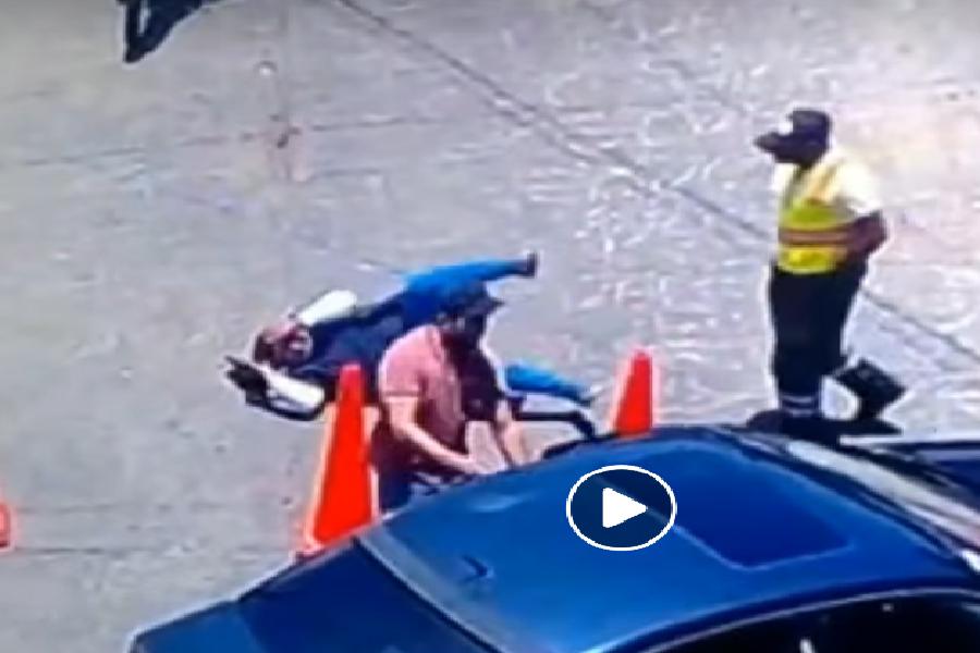 Mujer es agredida verbal y físicamente en Amanalco de Becerra VIDEO1