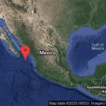 Sismo registrado de 6.1 grados en Baja California Sur
