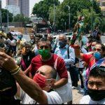 VIDEO || Feligreses se congregan para venerar a San Judas pese a pandemia