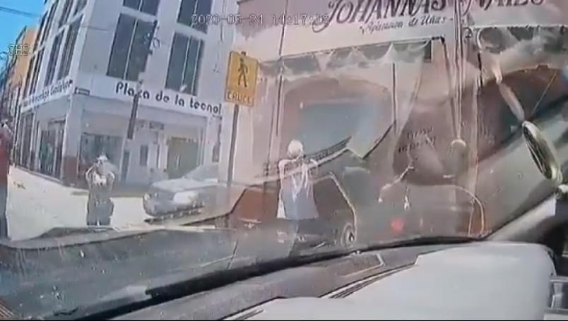 VIDEO || Zacatecas disparan en contra de una patrulla