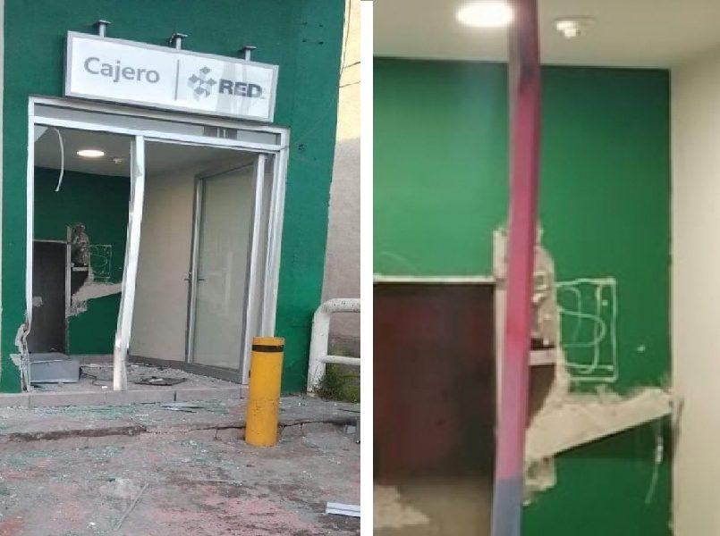 Cajero de Banco Azteca es desmantelado en Toluca