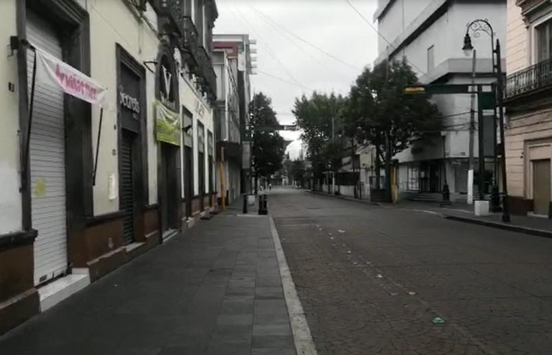 VIDEO    Así lucen las calles de Toluca tras cierre de primer cuadro