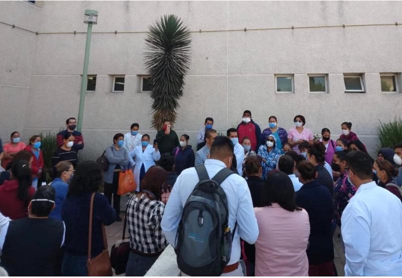 Denuncian falta de insumos en Hospital Mónica Pretelini