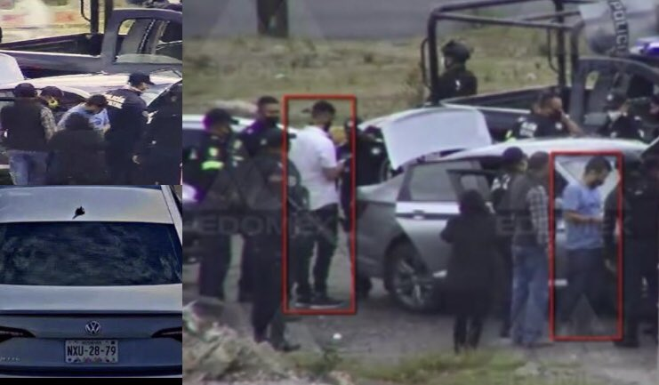 VIDEO || Persecución y captura de dos presuntos sicarios del CJNG en Atlacomulco