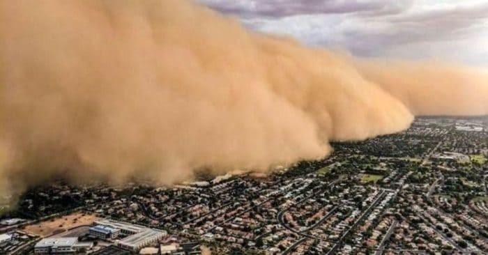 """La """"Nube de polvo del Sahara"""" llegó a México desde el día 24 de junio y se estará afectando a varios estados del país."""