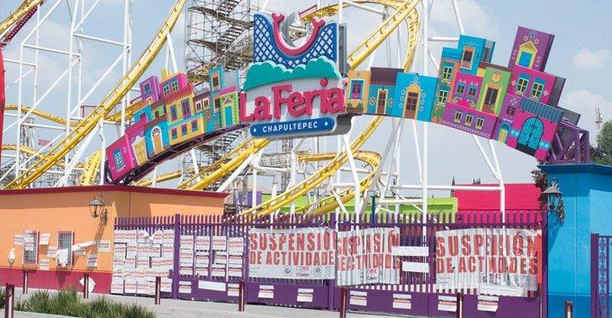 Comienza-la-desmantelación-de-la-Feria-de-Chapultepec