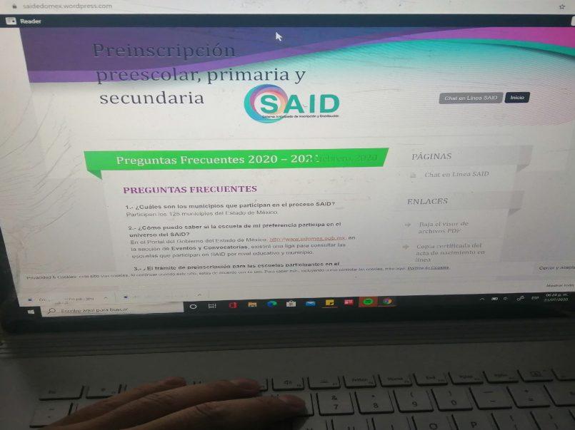 Conoce la fecha para los resultados de inscripción SAID Educación Básica en el EDOMEX3