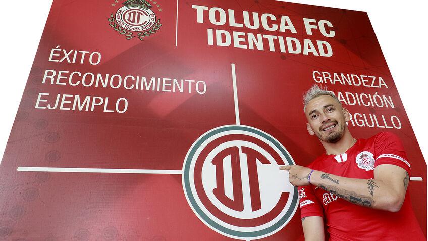 """""""El 14 a muerte con Toluca"""" primeras palabras de Rubens Sambueza después de fichaje con Toluca"""