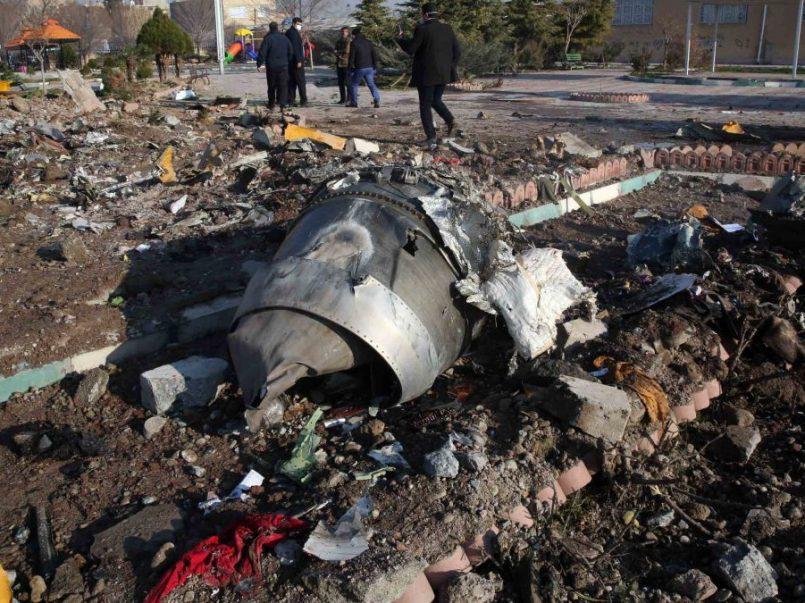 Tropas iranís derriban avión de pasajeros ucraniano
