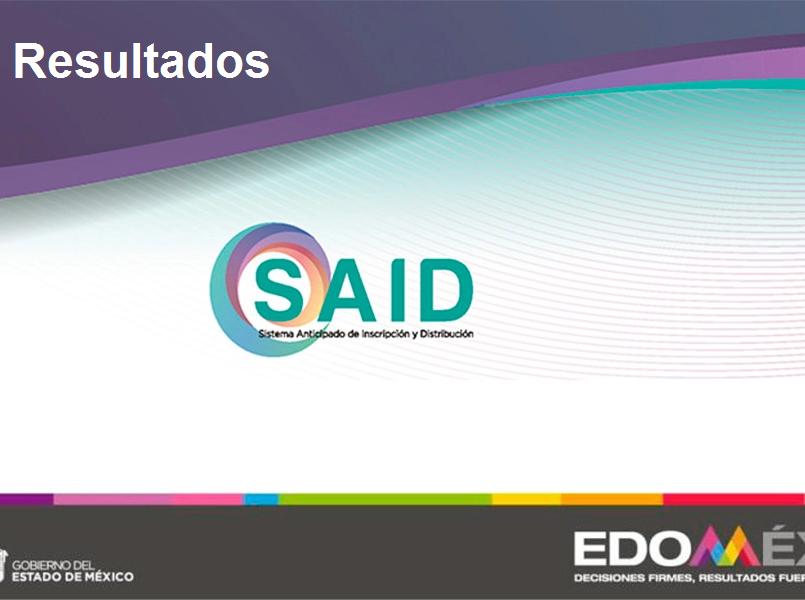 ¿Cuándo y dónde se publican los resultados SAID 2020?