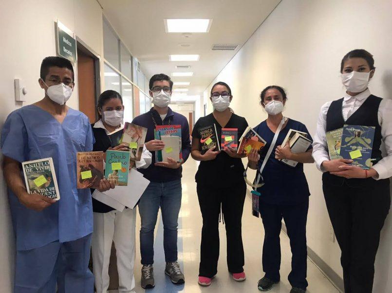 Implementa IMSS iniciativa de fomento a la lectura en pacientes con Covid-19