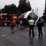 Accidente deja varias personas lesionadas en la México-Toluca