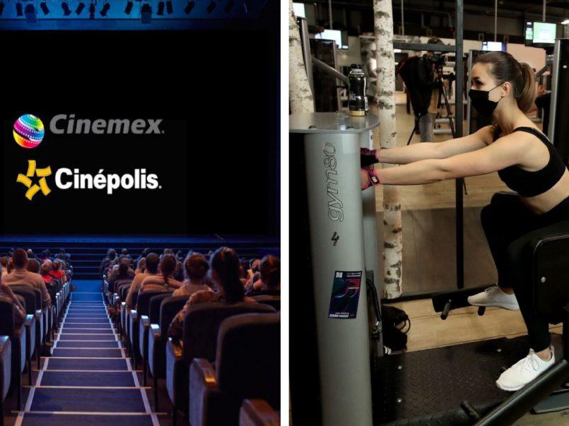 Cines y gimnasios ya tiene fecha de reapertura en el Estado de México