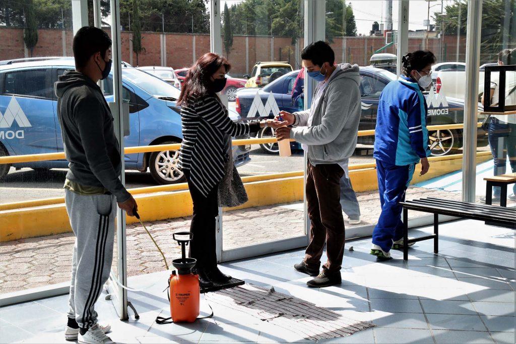 Ciudad Deportiva de Zinacantepec reanuda actividades1