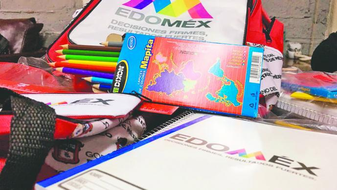 Comienza la entrega de útiles escolares en el Estado de México