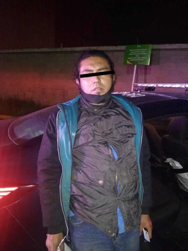 Detienen a presunto delincuente dedicado al robo de autopartes en Toluca2