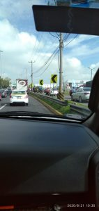Accidente automovilístico en Av. Boulervard Aeropuerto, Toluca FOTOGALERIA