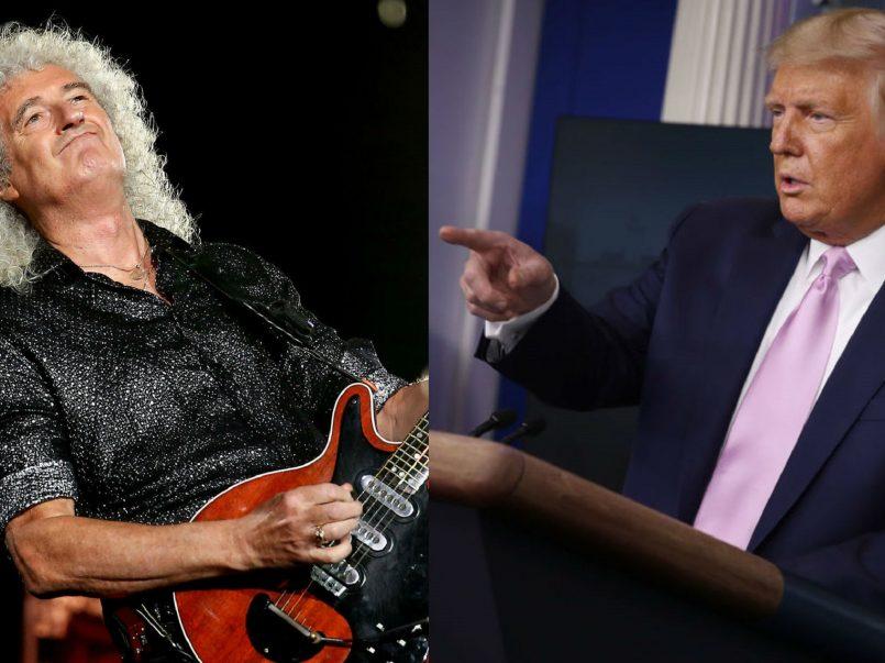 Queen intenta prohibir el uso de sus canciones a Trump