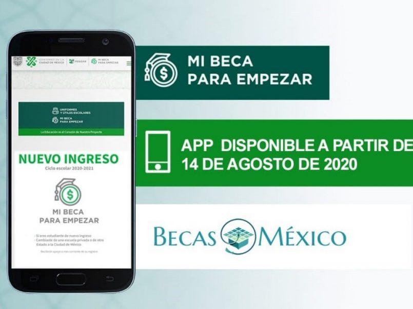 ElGobierno de la Ciudad de Méxicoinformó que la aplicación de Mi Beca para empezar se podrá descargar la aplicación móvil desde Google Play.