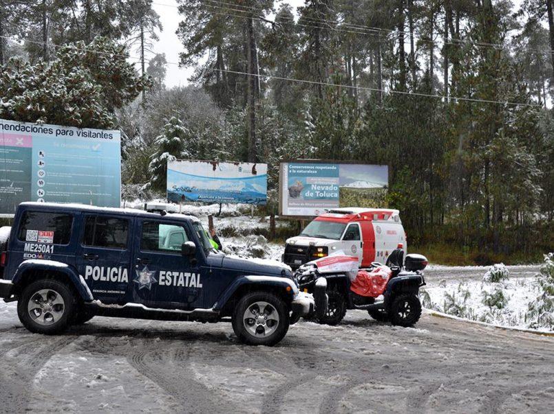 Continua cerrado del Nevado de Toluca