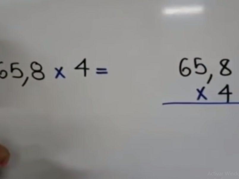Clases por televisión de la SEP con errores matemáticos