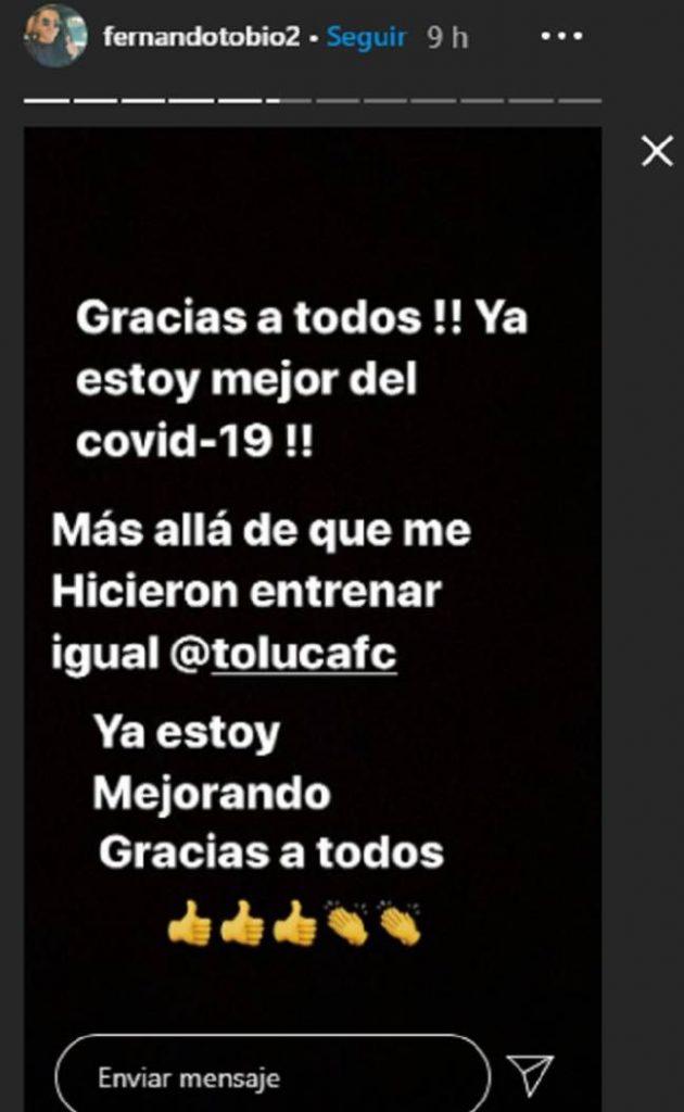 Avance en la demanda de Tobio a Toluca FC