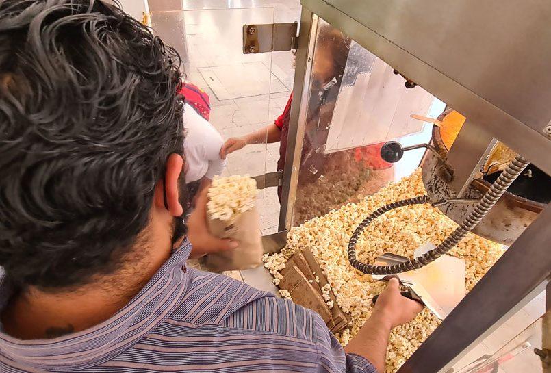 Palomitas de Maíz en la Concha Acústica de Toluca