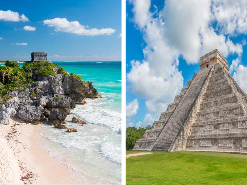 Playas de Cancún, y zonas arqueológicas como Chichen Itza y Tulum ya podrán ser visitada