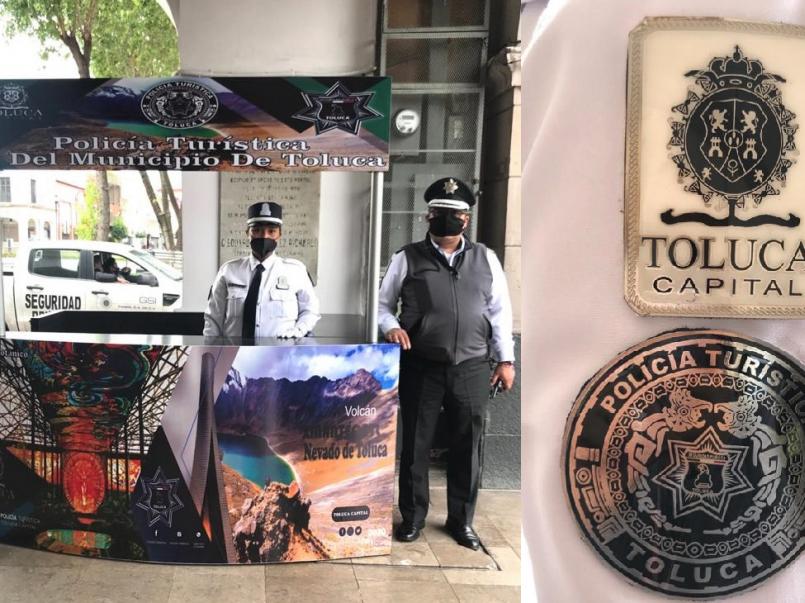 Policía Turística de Toluca brinda protección y seguridad a los visitantes