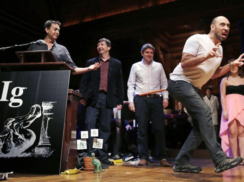 Premios Nobel Ig a los descubrimientos más graciosos