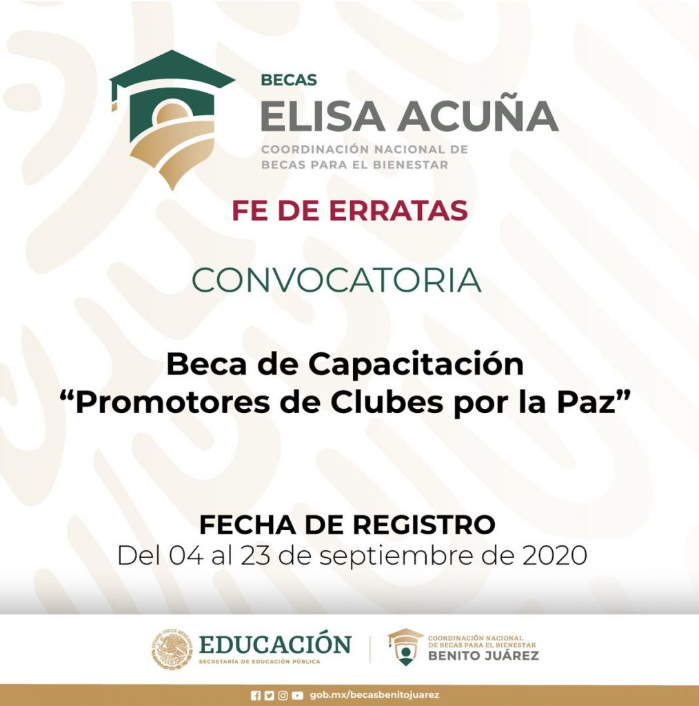 Beca de 10 mil pesos para docentes y alumnos de nivel licenciatura