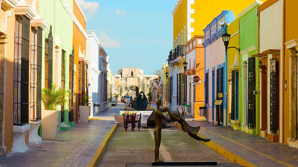 Campeche es el primer estado en color verde, estas actividades pueden realizar