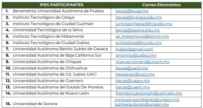 Beca de 10 mil pesos para estudiantes y docentes de educación superior