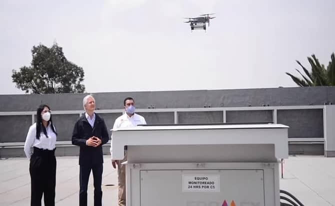 Alfredo del Mazo Maza, Gobernador del Estado de México, busca que la Seguridad del Edomex mejore por medio de la vigilancia con drones.