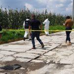 Encuentran cadáver encobijado en Calzada del panteón en Mexicaltzingo
