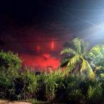 Luces extrañas aparecieron en el cielo de Tabasco
