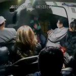 (Video) Mujer bendice con la santa muerte después que la asaltaron