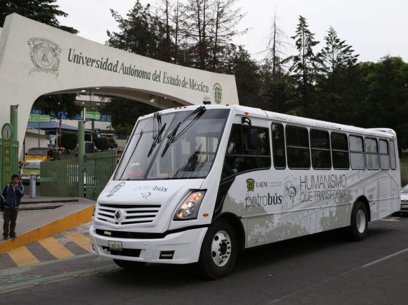 Nueva ruta del Potrobús anunciada por la UAEMex