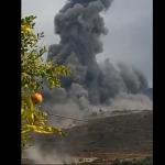 (Videos) Nuevamente registran fuerte explosión en Líbano