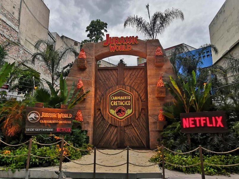 ¿En dónde está la puerta de Jurassic World en la CDMX?