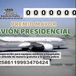 Conoce a los 100 ganadores de la rifa del avión presidencial