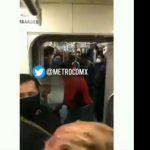 (Video) Aplican una llave china a presunto ladrón en metro