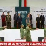 Videos y fotos del desfile militar 2020
