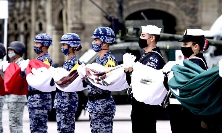 Video y fotos del desfile militar 2020